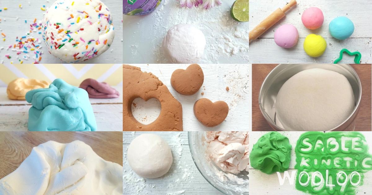 Nos 9 recettes préférées de pâtes à modeler vraiment originales