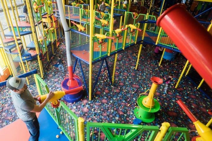 centre d amusement funtropolis laval st hubert