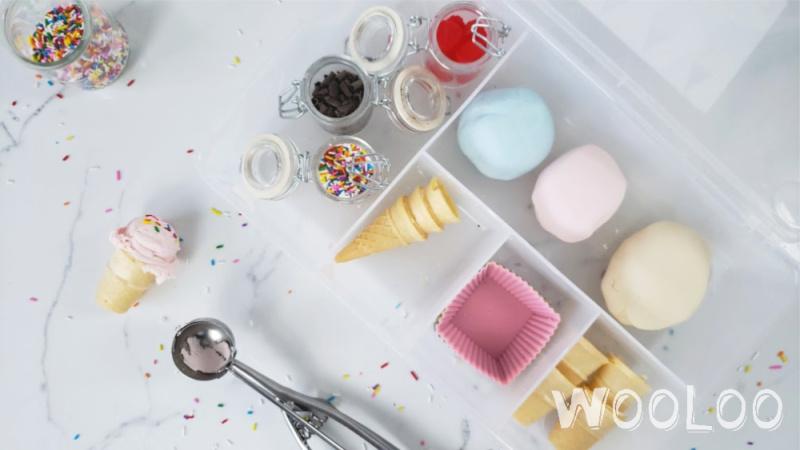 Ensemble de pâte à modeler DIY – Marchand de glace