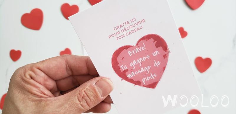 Carte à gratter de St-Valentin  à imprimer (GRATUIT)