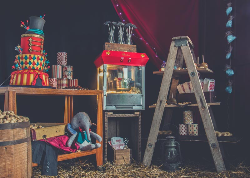 Une fête d'enfants sur le thème du cirque à faire rêver