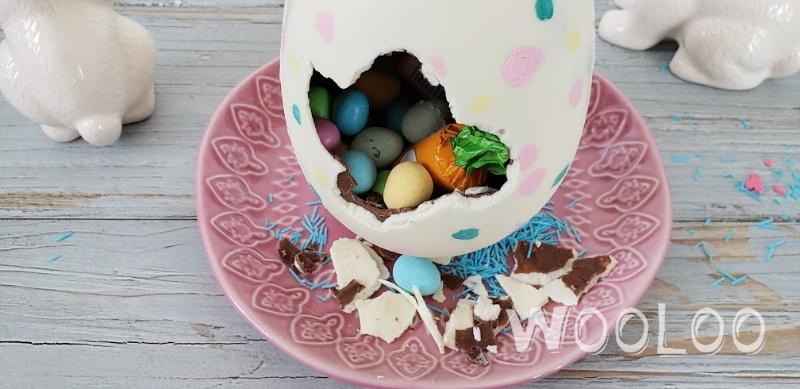Œufs de Pâques à peinturer – Activité comestible !