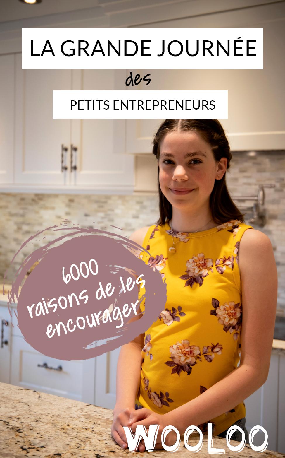 La Grande Journée des Petits Entrepreneurs encourage entrepreneuriat auprès des jeunes de 5 à 12 ans partout au Québec.