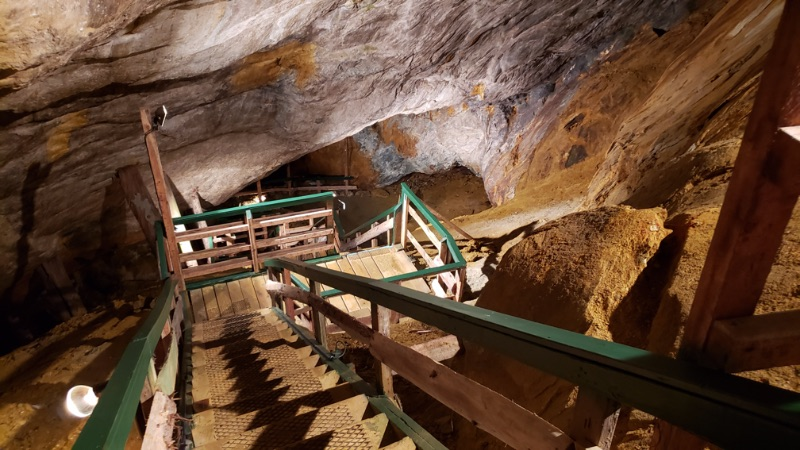 Découvrez l'histoire des mineurs du Québec dans la mine de Capelton de la MRC de Coaticook.
