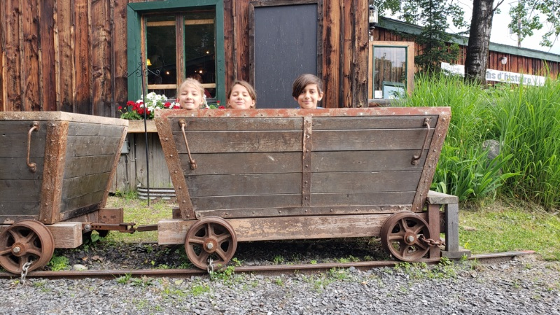 Visite de la Mine Capelton dans la région touristique de Coaticook.