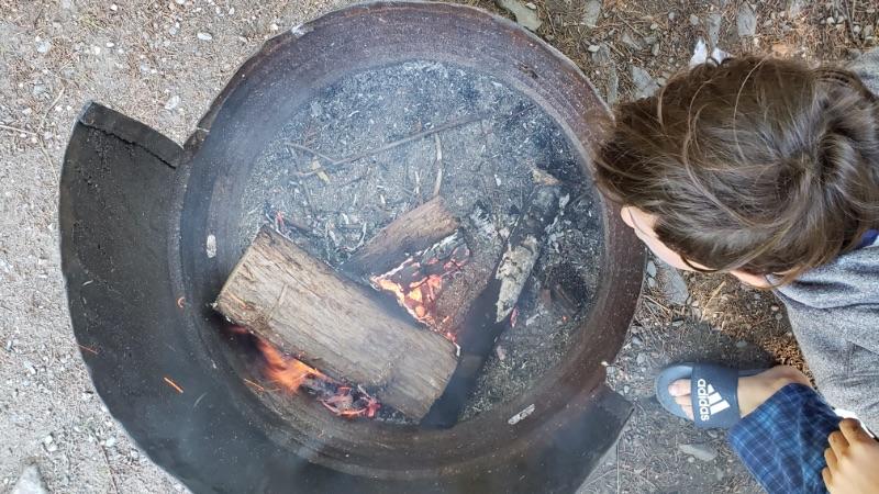 Idée de repas en camping