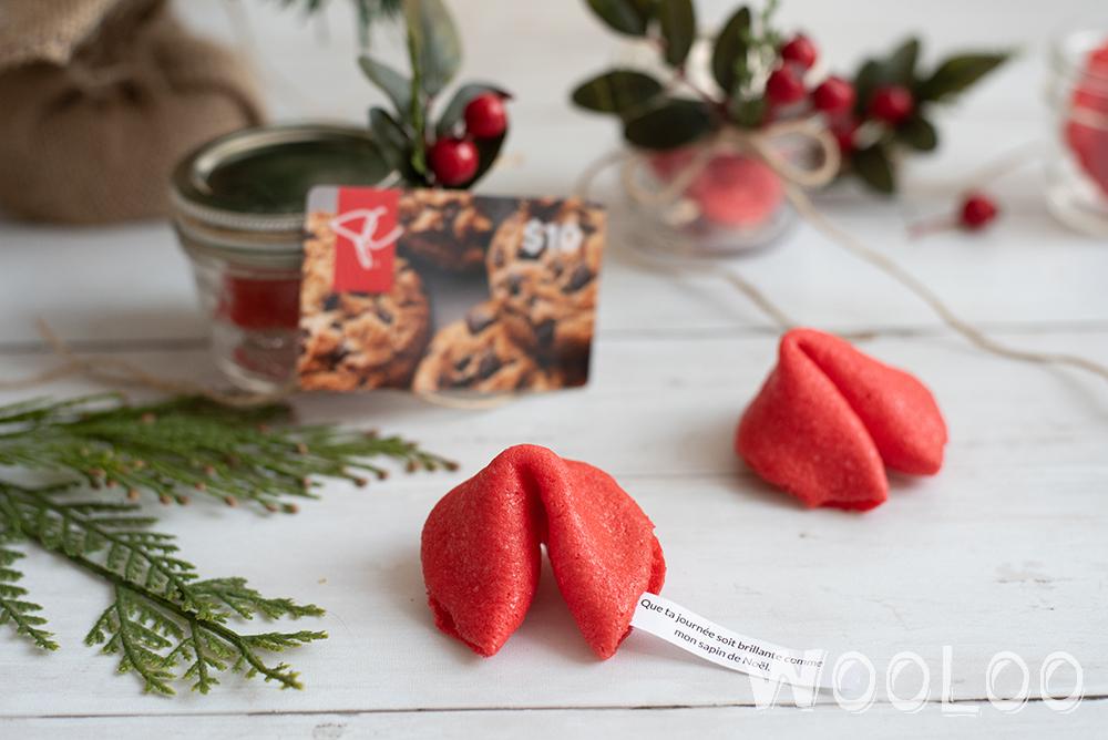 Offrir des biscuits chinois personnalisés en cadeau