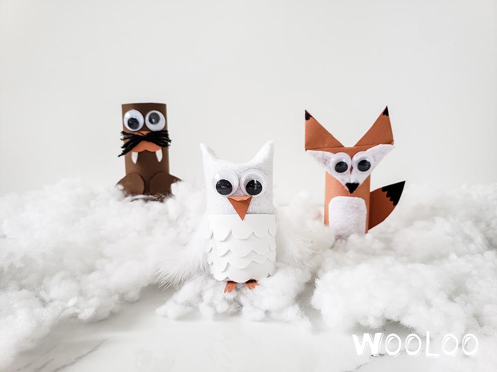 11 magnifiques animaux bricolés avec des rouleaux de papier