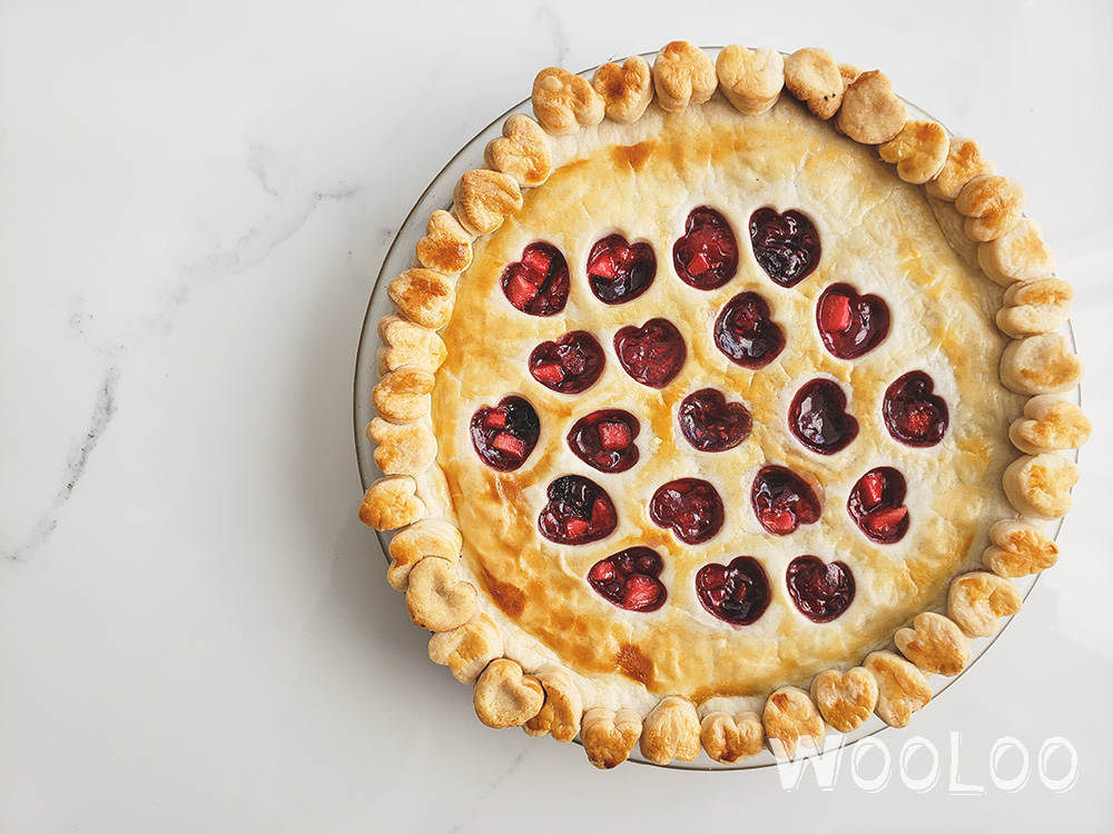 Délicieuse tarte aux petits fruits rouges