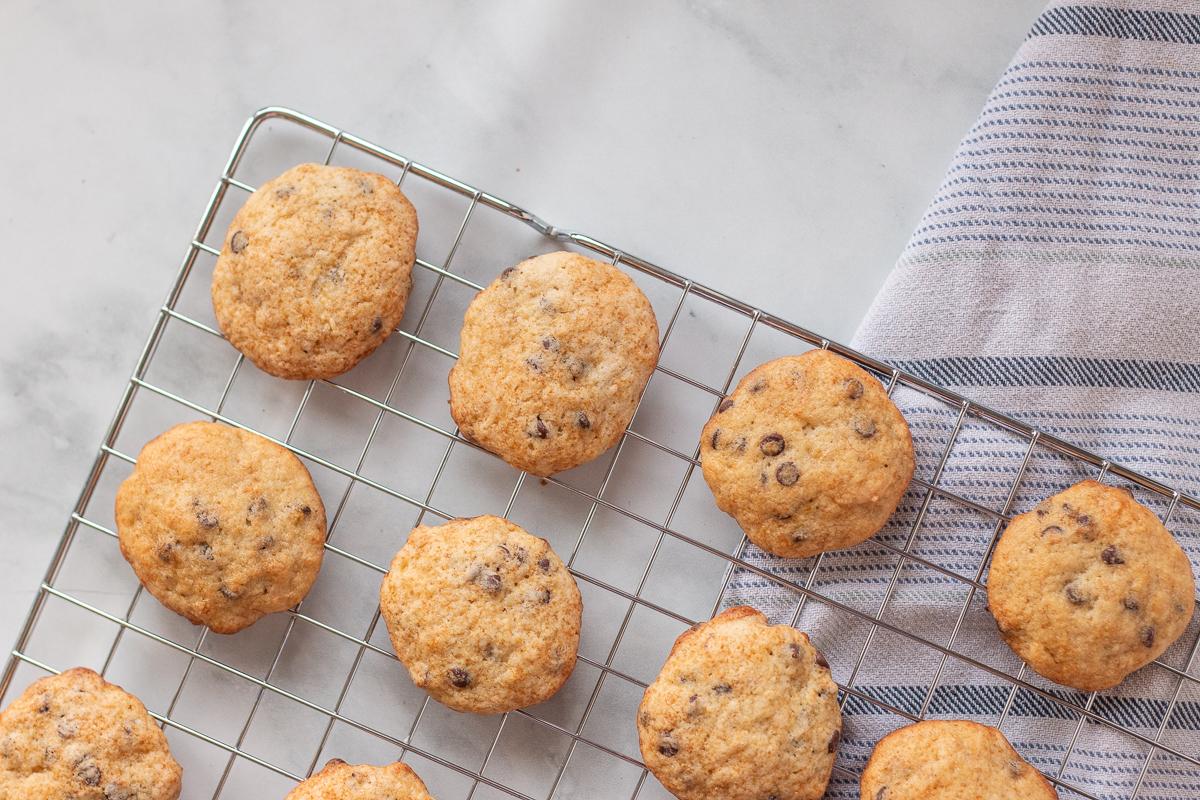 Recette classique de biscuits bananes et chocolat