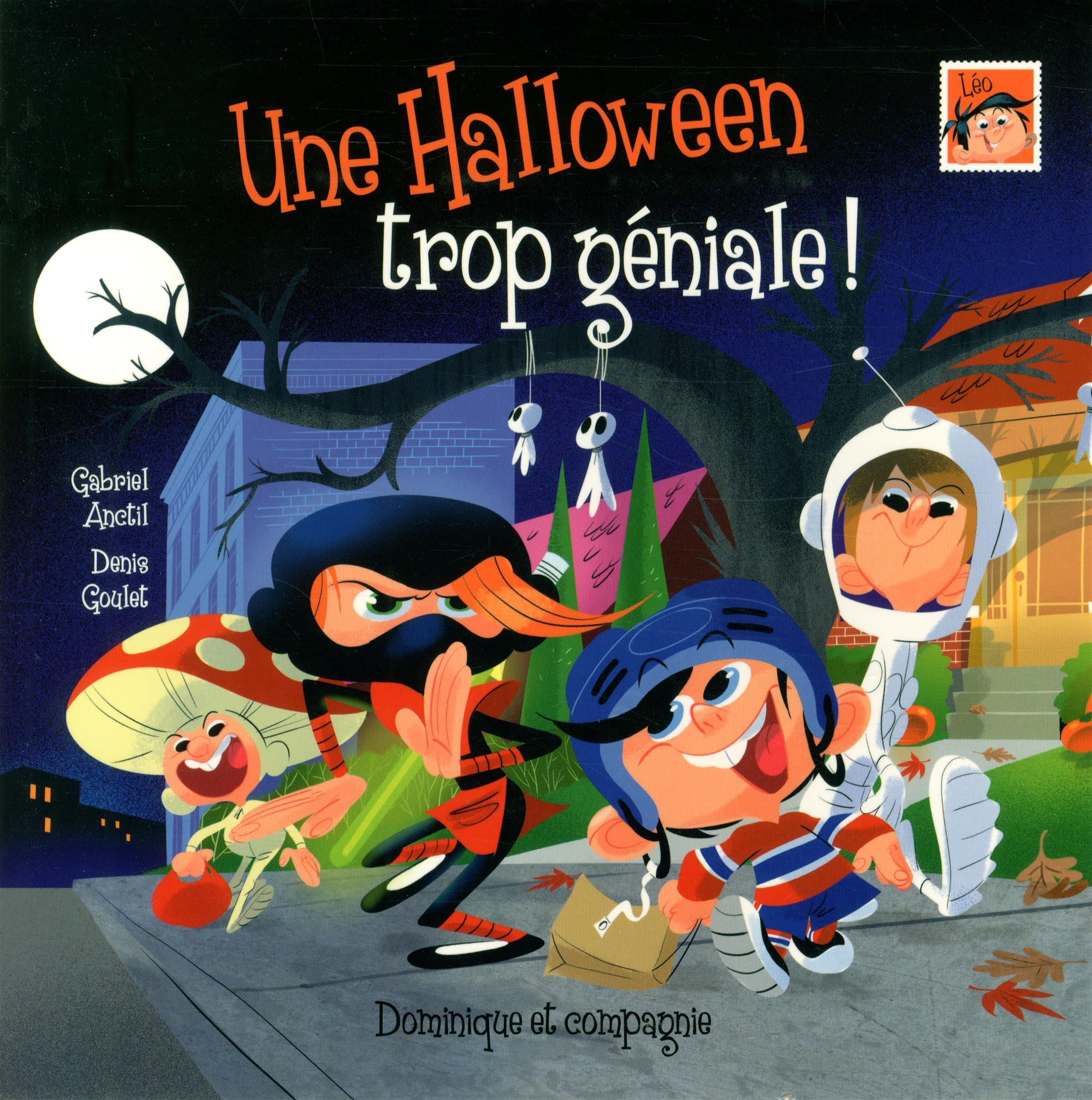 Livre-halloween-Léo une Halloween trop géniale-wooloo